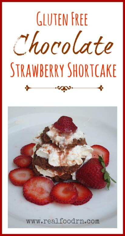 Gluten Free Strawberry Shortcake | Real Food RN