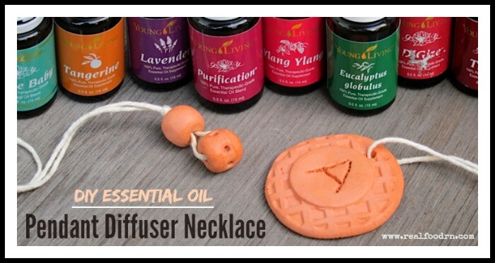 DIY Essential Oil Pendant Diffuser Necklace | Real Food RN