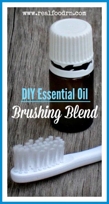 DIY Essential Oil Brushing Blend | Real Food RN