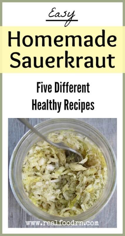 Homemade Sauerkraut | Real Food RN