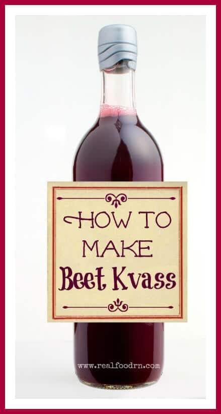 How To Make Beet Kvass | Real Food RN