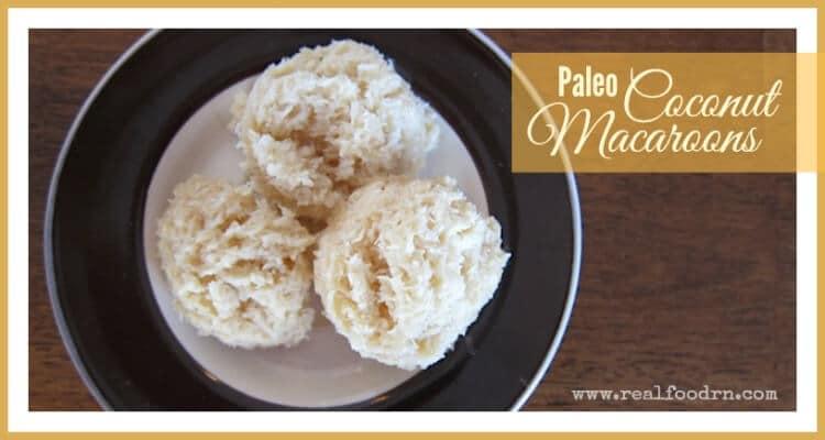 Paleo Coconut Macaroons | Real Food RN