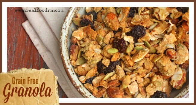 Grain Free Granola | Real Food RN