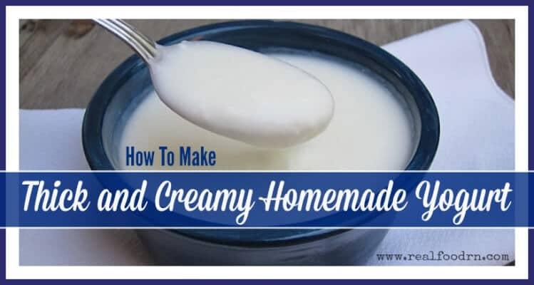 How To Make Yogurt | Real Food RN