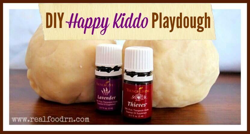 DIY Happy Kiddo Playdough   Real Food RN