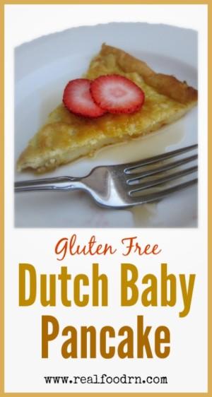 Gluten Free Dutch Baby Pancake | Real Food RN