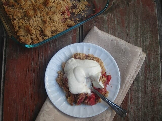 Grain Free Berry Crisp |Real Food RN
