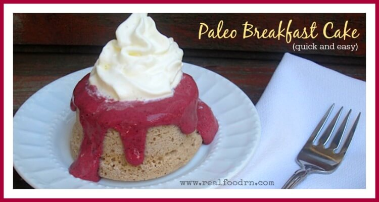 Paleo Breakfast Cake | Real Food RN