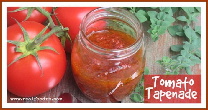 Tomato Tapenade | Real Food RN