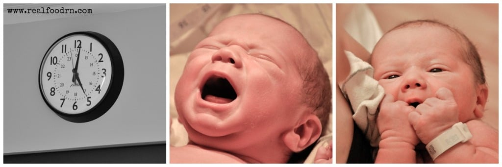 My All Natural Hospital Birth | Real Food RN