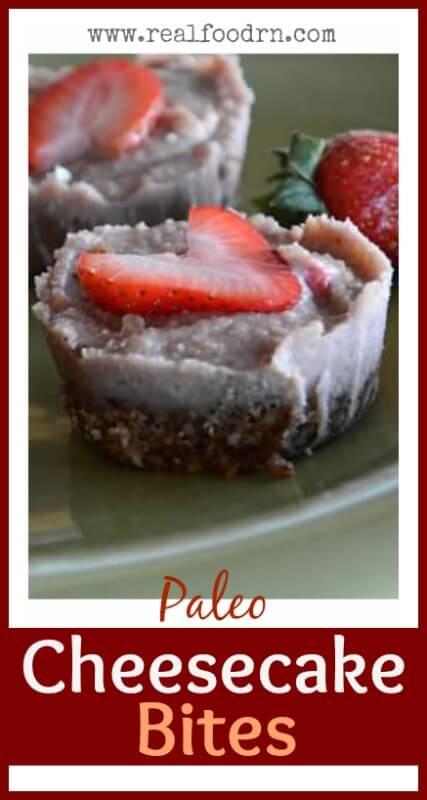 Paleo Cheesecake Bites |Real Food RN