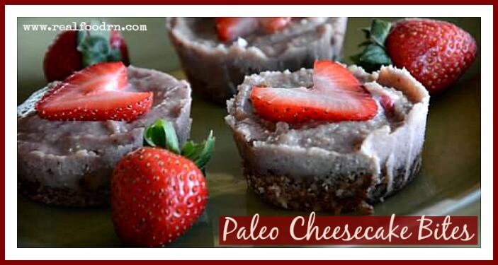 Paleo Cheesecake Bites | Real Food RN
