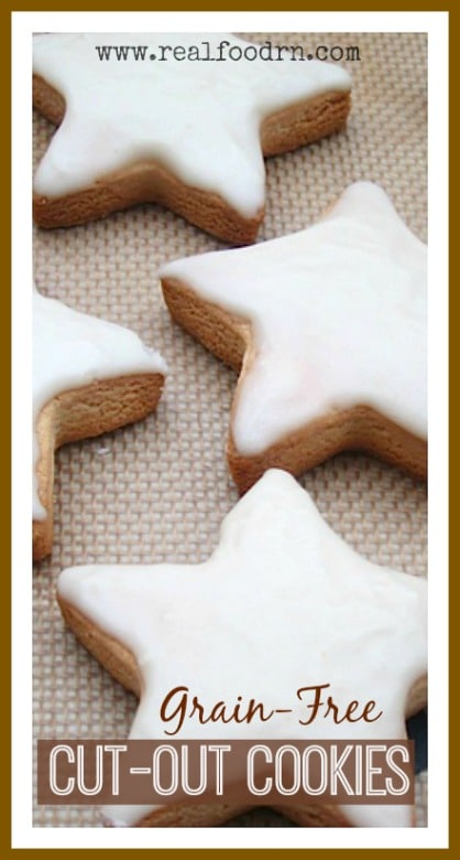 Grain-Free Cut-Out Cookies -- Real Food RN