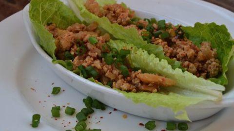 P.F. Chang's Copycat Chicken Lettuce Wraps