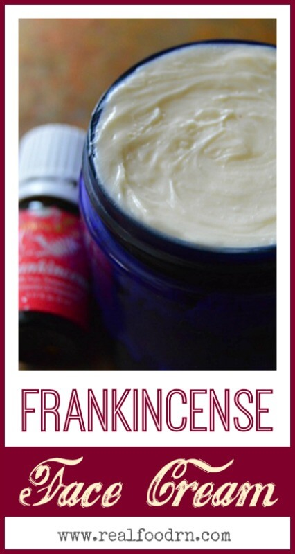 Frankincense Face Cream   Real Food RN