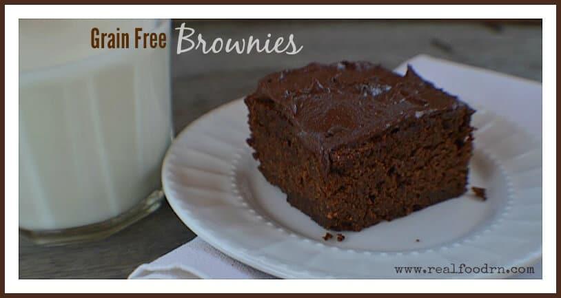 Grain Free Brownies | Real Food RN