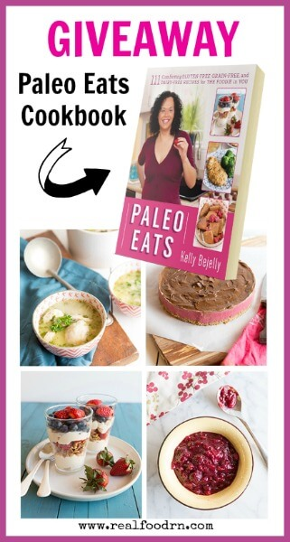 Paleo Eats Cookbook Giveaway | Real FoodRN