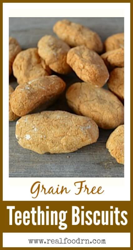 Grain Free Teething Biscuits | Real Food RN