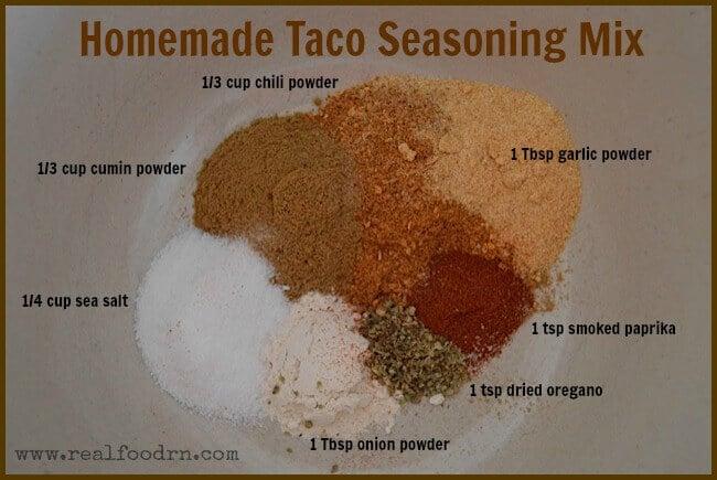 Homemade Taco Seasoning Mix | Real Food RN