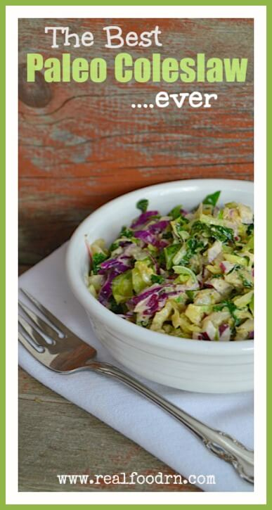 The Best Paleo Coleslaw Ever  Real Food RN