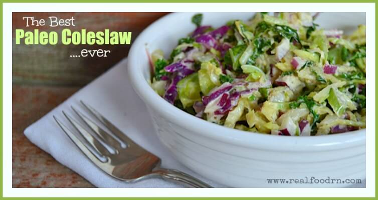 The Best Paleo Coleslaw Ever | Real Food RN