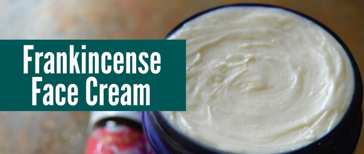 Frankincense Face Cream | Real Food RN