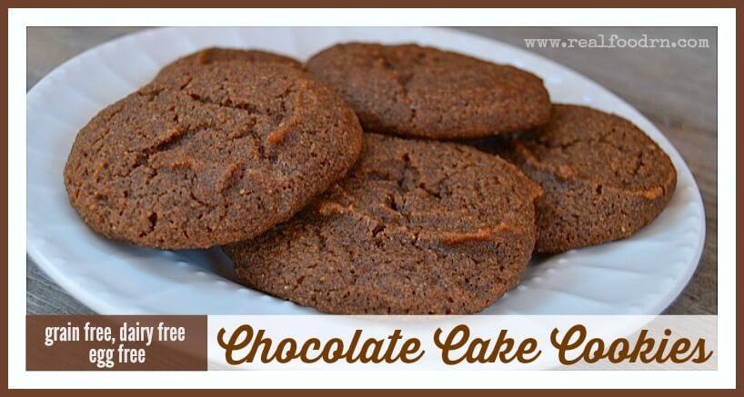 Chocolate Cake Cookies | Real Food RN