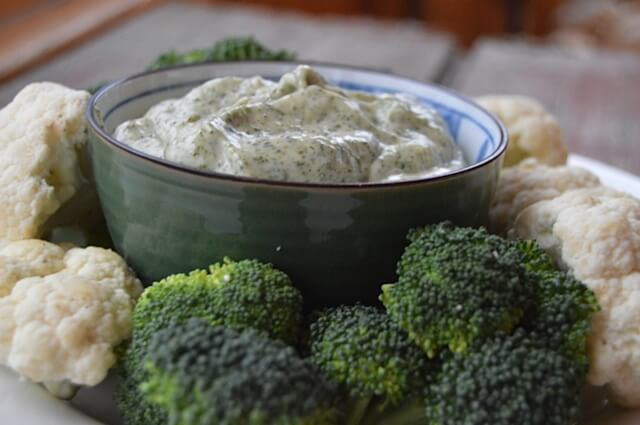 5-minute Ranch Dip | Real Food RN
