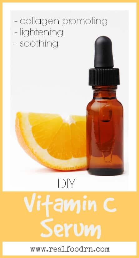 DIY Vitamin C Serum | Real Food RN