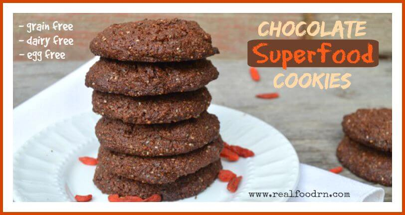Chocolate Superfood Cookies | Real Food RN