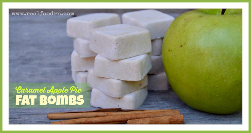 Caramel Apple Pie Fat Bomb Recipe | Real Food RN