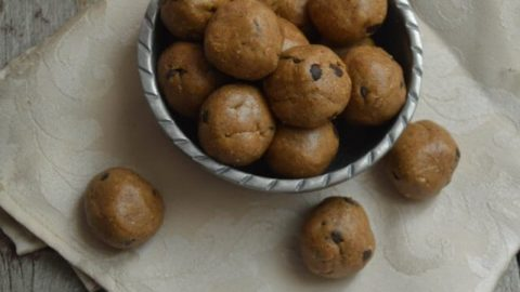 Lactation Cookie Dough Bites