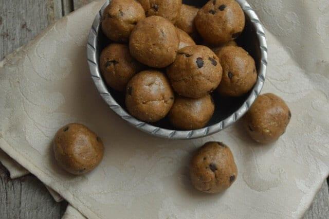 Lactation Cookie Dough Bites