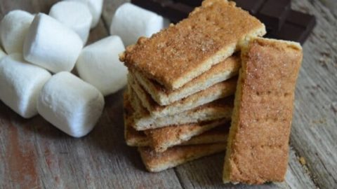 Grain-Free Homemade Graham Crackers