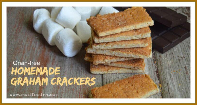 Grain-free Homemade Graham Crackers   Real Food RN