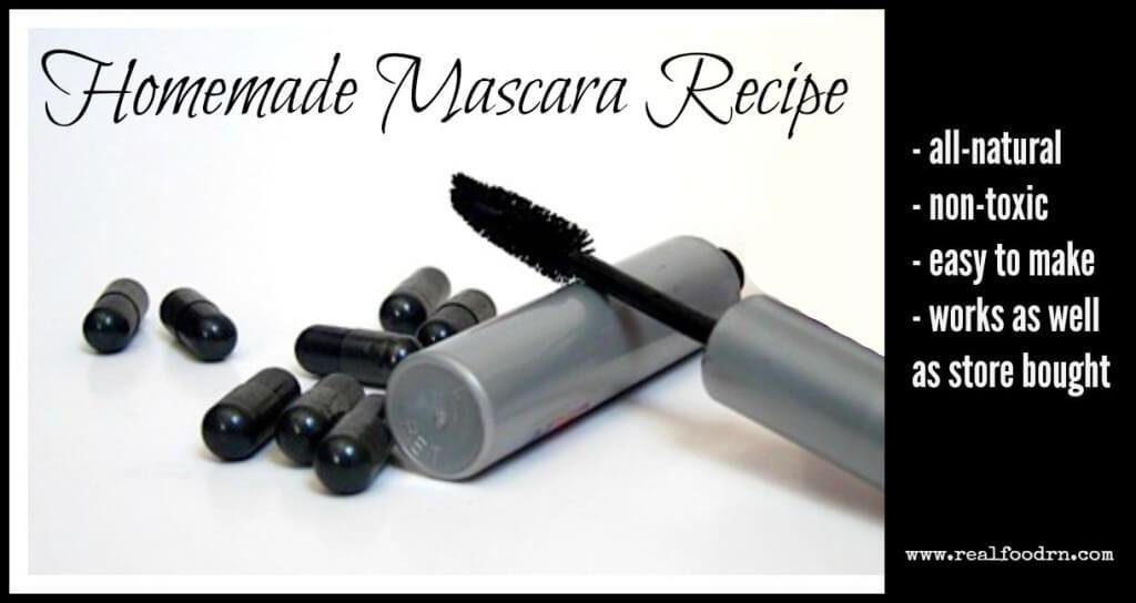 Homemade Mascara Recipe | Real Food RN