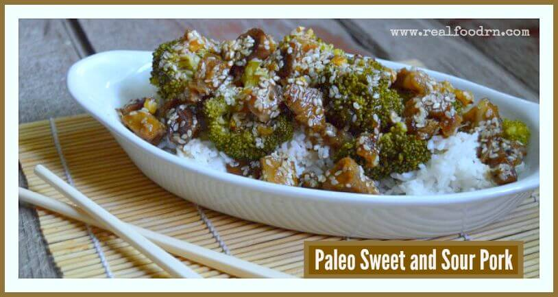 Paleo Sweet and Sour Pork | Real Food RN