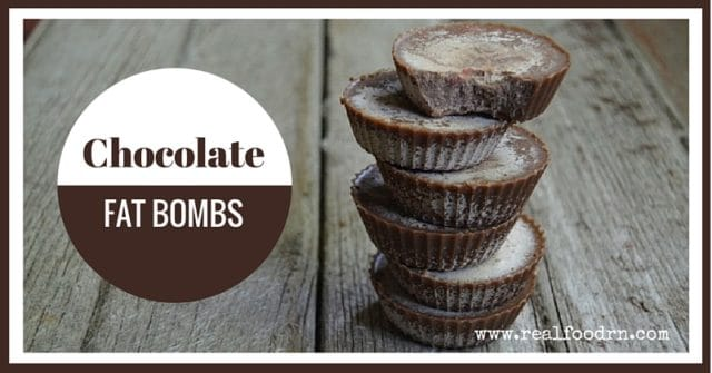 Chocolate Fat Bombs | Real Food RN