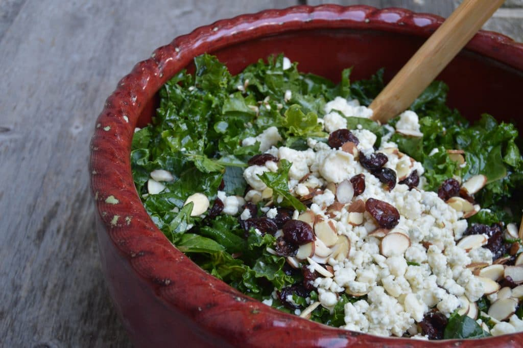 My Famous Kale Salad Recipe | Real Food RN