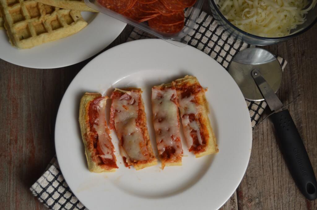 Grain Free Savory Waffle Pizzas | Real Food RN