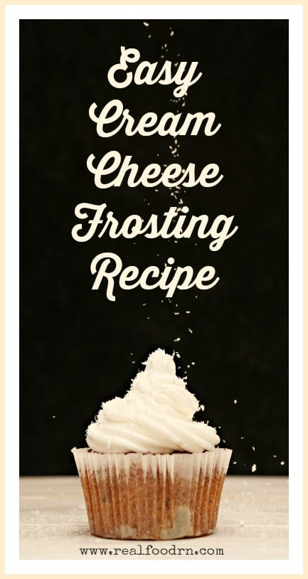 Easy Cream Cheese Frosting Recipe | Real Food RN