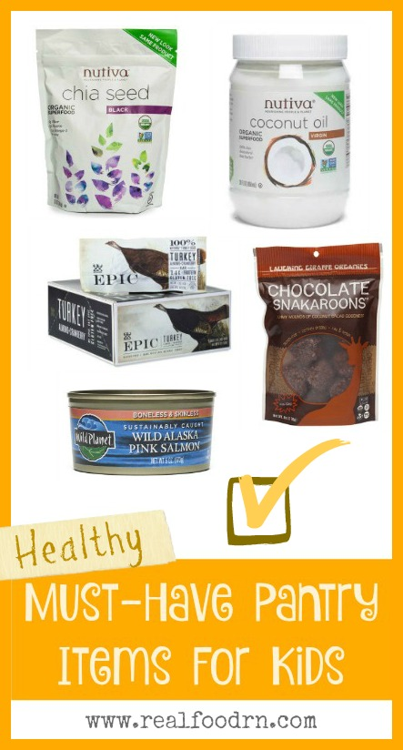Healthy Kid Snacks: Must-Have Pantry Items | Real Food RN