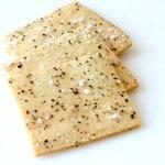 Paleo Salt and Pepper Crackers