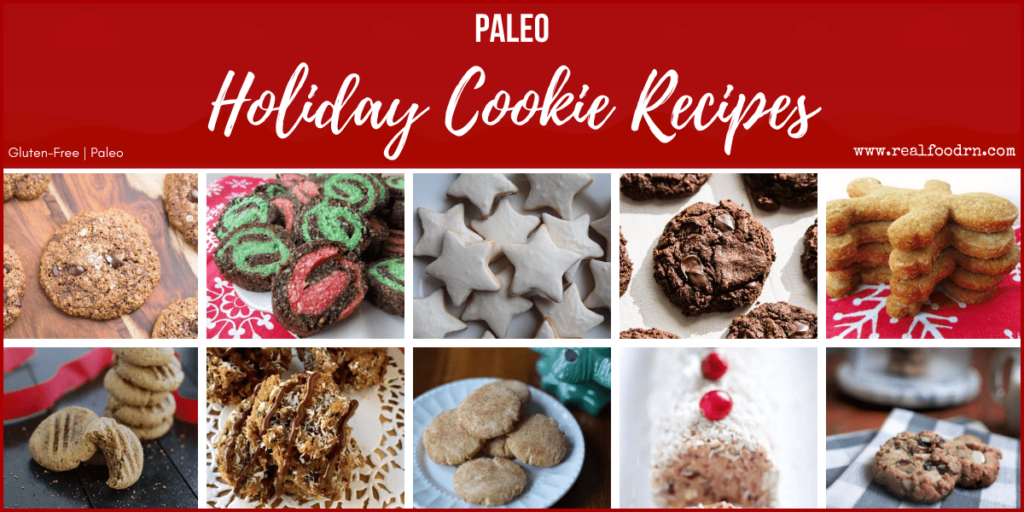 40 Paleo Holiday Cookie Recipes | Real Food RN