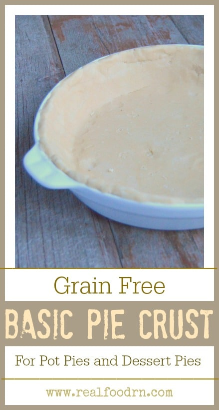 Grain Free Basic Pie Crust Recipe | Real Food RN