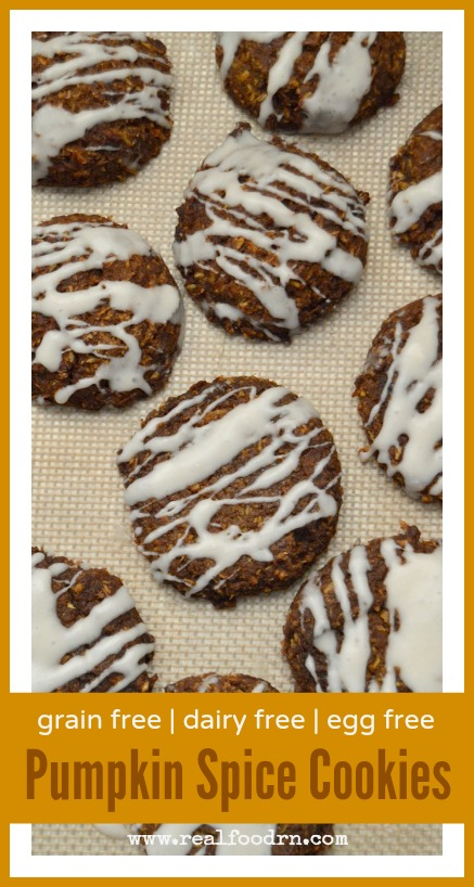 Paleo Pumpkin Spice Cookies | Real Food RN