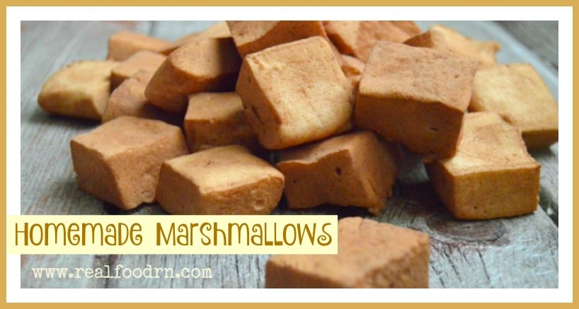 Homemade Marshmallow Recipe | Real Food RN