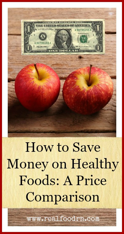 How to Save Money on Healthy Foods: A Price Comparison | Real Food RN