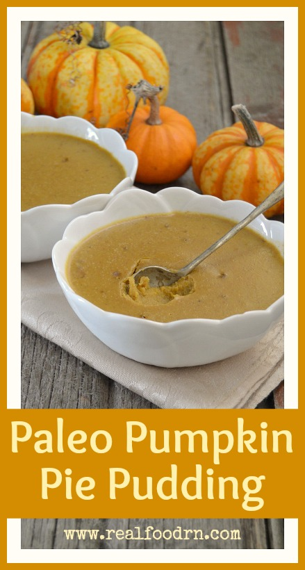 Paleo Pumpkin Pie Pudding | Real Food RN