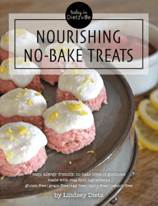 Nourishing No Bake Treats